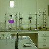 The laboratory at the Viu Manent winery in the Colchagua valley.