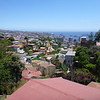 View of Valparaiso from Pablo Neruda's house.