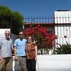 Wayne, Mike and Paula in Valparaiso.