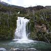 big waterfalls between Villa O'Higgins and Pto Yungay