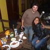 Our new friends, Osvaldo and Carla, in La Serena.