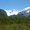 icy mountain views, Valle Exploradores