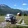Ranger house provided safe parking, Sector Rio Chico, Reserva Nacional Futaleufú