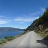 along a lake, Carretera Austral