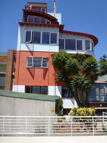 Pablo Nerudo's house in Valparaiso.