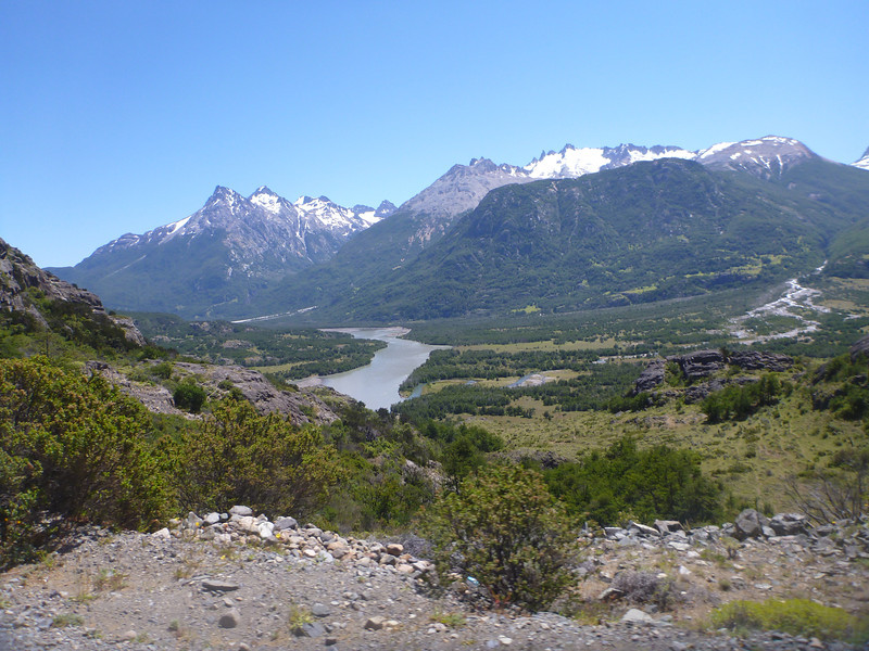 meandering river, Carretera Austral