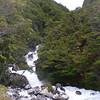 waterfalls between Villa O'Higgins and Pto Yungay