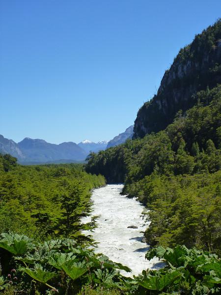 river view, Valle Exploradores
