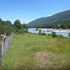 river and pasture, Carretera Austral