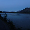 sundown at the southern end of the Carretera Austral