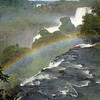 rainbow over the Argentine side  (Cataratas de Iguazú)