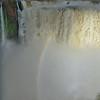 la Garganta del Diablo with rainbow  (Cataratas de Iguazú)