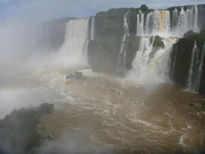 misty look at the Argentine side  (Foz do Iguassu)