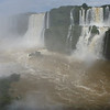 misty look at the Argentine side  (Foz do Iguassu)