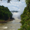 looking upriver  (Cataratas de Iguazú)