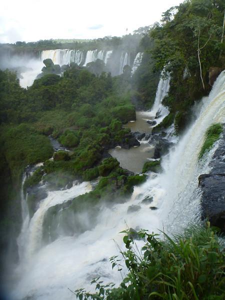 Argentine water falls  (Cataratas de Iguazú)
