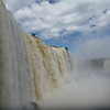 misty side view  (Foz do Iguassu)