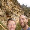 Us at the  Sarcofagos de Karajia, Peru