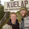 At the Kuelap Archeological Site