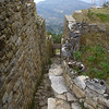 Inside the Kuelap ruins, Peru