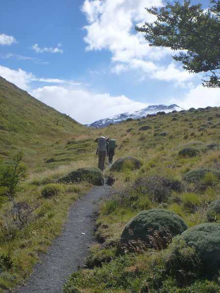 Hiking the circuit, Torres del Paine