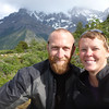Mike and Jill self portrait, Valle Francés, Torres del Paine