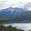 Rio Paine dumping into Lago Paine, Torres del Paine