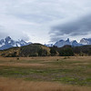 View of the range, Torres del Paine