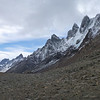 rocky views from the pass, Torres del Paine