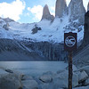 No swimming, for real.  Torres del Paine