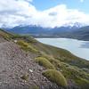 Trail above Lago Paine, Torres del Paine