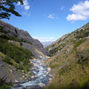 Looking downstream, Rio Ascensio, Torres del Paine