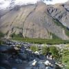 Between Campamento Torres and the mirador, Torres del Paine
