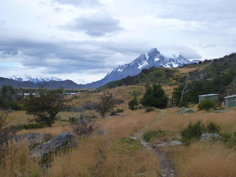 Campamento las Carretas, Torres del Paine