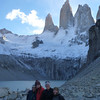 David, Christie, Jill and Mike at the mirador de las Torres (prev image is better), Torres del Paine