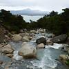 Glacier water heading into Lago Nordenskold, Torres del Paine