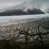 Strange formations on Glaciar Grey, Torres del Paine