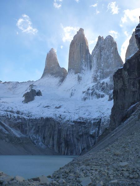 Torres Sur, Central y Norte