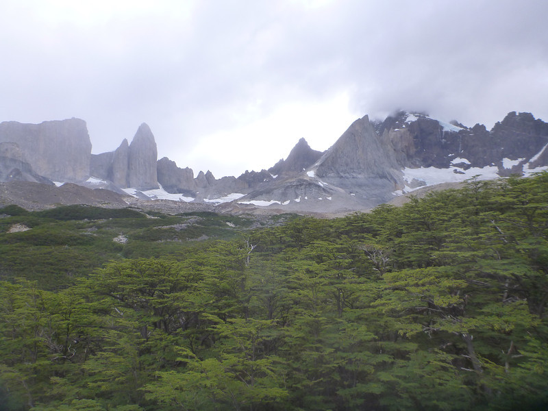 weather moving in, Valle Francés, Torres del Paine