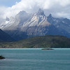Cerro Paine Grande seen from across Lago Pehoé, Torres del Paine