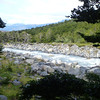 stream view near Campamento Italiano.  Valle Francés, Torres del Paine
