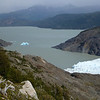 Icebergs in Lago Grey near Glaciar Grey, Torres del Paine