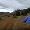 Campamento Las Carretas.  One of the few free campsites still available, Torres del Paine