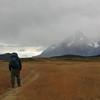walking towards Cerro Paine Grande, Torres del Paine
