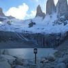 No swimming, Torres del Paine