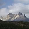 Cerro Paine Grande in a bit of sun, Torres del Paine