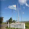 Uruguayan flag at Chuy