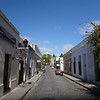 back street view, Colonia, Uruguay