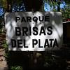 entry sign, Parque Brisas del Plata, Uruguay