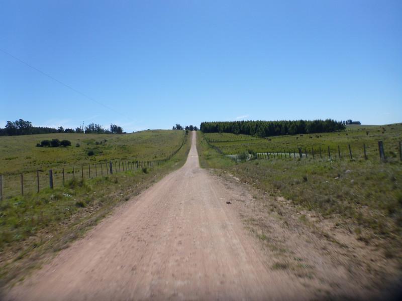 leaving Rocha towards Minas